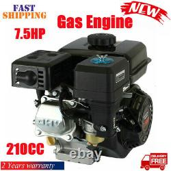 Gas Engine Replaces for Honda GX160 OHV 7.5HP 210cc Air Cooled Pullstart