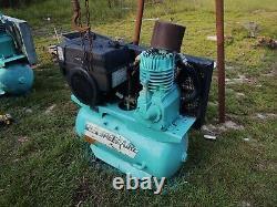 Gas air compressor truck mount speedaire
