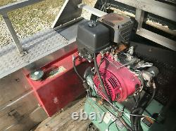 HGR7-3H CHAMPION 30GALLON 13HP HONDA AIR COMPRESSOR with AUX fuel tank