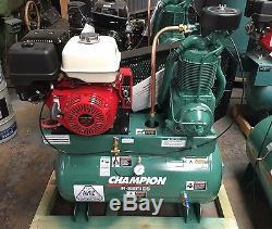 Hgr7-3h Champion 30gallon 13hp Honda Air Compressor 3year Parts & Labor Warranty