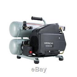 Hitachi Portable 4 Gallon Twin Stack Air Compressor EC99S Recon