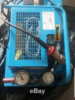 Holugt HL120 Breathing Air Compressor 225bar good condition 220 v single phase