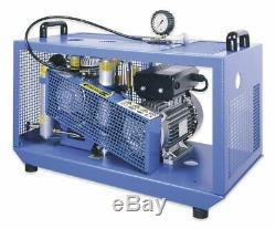 Holugt HL120 Breathing Air Compressor, 4800 psi Electric NEW