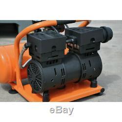 Hulk HP01P002SS 1 HP 2 Gal. Silent Air Portable Compressor New