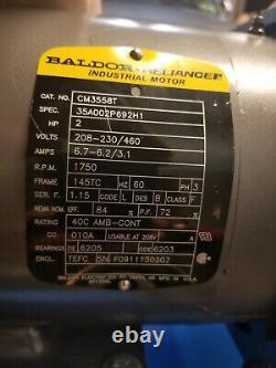 Hydrovane HV02 Receiver Mounted Rotary Vane Compressor + Tank + Electronics