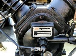 INGERSOLL-RAND 120gal HORIZONTAL AIR COMPRESSOR 10HP #2545E10