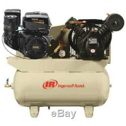INGERSOLL RAND 2475F14G Stationary Air Compressor, 14 HP, Kohler