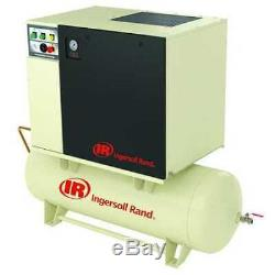 INGERSOLL RAND UP6-15C-125/120-230-3 Rotary Screw Air Compressor, 15 HP, 55 cfm