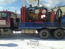 IR 900/350 truck mounted air compressor