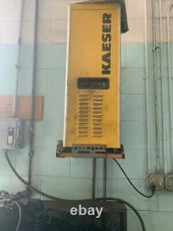 Industrial Air 80 gallon Air Compressor, Horizontal, with Kaeser Dryer