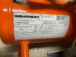 Industrial Air CTA5090412 5 HP 4 gal Oil-Free Twin Tank Air Compressor Q-4