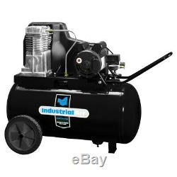 Industrial Air IP1982013 120/240-Volt 20 Gallon Horizontal Air Compressor