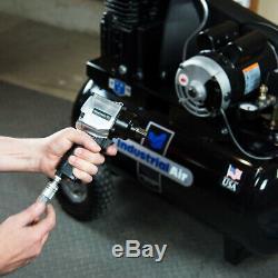 Industrial Air IPA1882054 20 Gallon 155-Psi 1.9 HP Horizontal Air Compressor