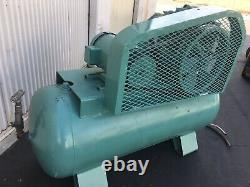 Industrial Electric Air Compressor 10 HP 3-phase 220/440v/ 120 Gal Horizontal