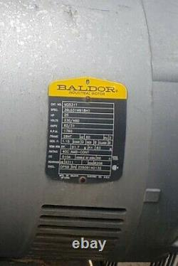 Industrial Electric Air Compressor. Used 25 HP decommissioned in running order
