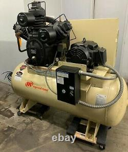 Ingersoll Rand 20-HP 120-Gallon Two-Stage Air Compressor 15TE20-P-230
