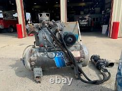 Ingersoll Rand Air Compressor 3 Phase Power Model 15T