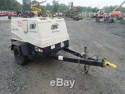Ingersoll Rand Airsource Plus 185 Towable Air Compressor, 62.4 HP Pre-emissions