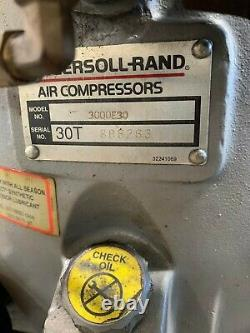 Ingersoll Rand Model T-30 2-stage Lubricated Air Compressor 30 HP