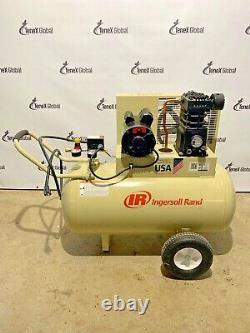 Ingersoll Rand SS3F2-GM, Portable Electric Air Compressor, 2 HP, 30 Gal Q-37