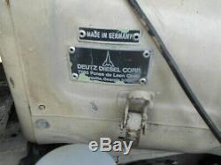 Ingersoll rand 175 cfm diesel air compressor 3cyl deutz F3L912 air cooled