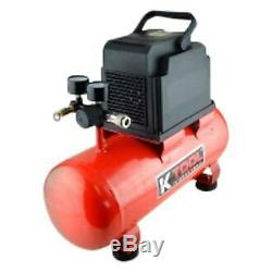K-Tool 3 HP Horizontal 3 gal. Tank Electric Air Compressor