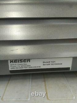 Keiser Small Compressor Model 1021