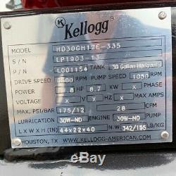 Kellogg American 12 HP Honda Gx390 Truck Mount Air Compressor