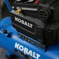 Kobalt 8-Gallon Single Stage Portable Electric Horizontal Air Compressor SALE