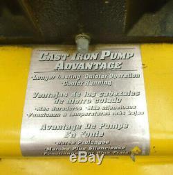 (MA2) Campbell Hausfeld VT617205AJ 5.5HP Gas 8 Gallon Compressor LOCAL-PICKUP