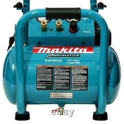 Makita Air Compressor 5.2 Gal. 3.0 HP Corded Electric Single Steel Tank Portable