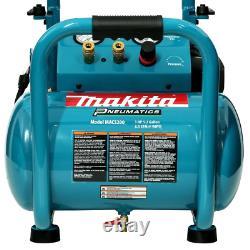 Makita Electric Single Tank Air Compressor 5.2 Gal. 3.0 HP Oil-Lubricated Pump