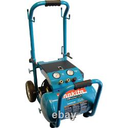 Makita Portable Air Compressor 5.2 Gal. Capacity Corded Electric Oil-Lubricated