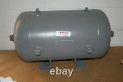 Manchester Tank 304936 Horizontal Universal Air Receiver Tank 10 Gallons, 200 PS