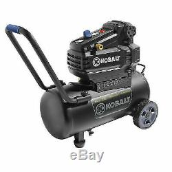 NEW Kobalt 8-Gallon Portable Electric Horizontal Air Compressor 0300842