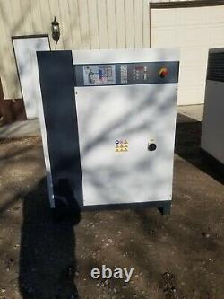 Never Used 50 HP Gardner-denver Rotary Compressor Full Quiet Housing 230/460v