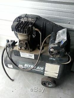 NitroAir NAPA 20 Gallon 5HP 125PSI Air Compressor NAC82-4252-PAT AS IS