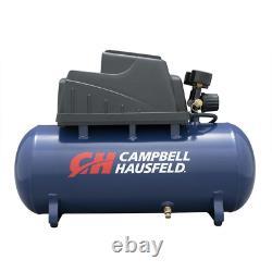 PORTABLE AIR COMPRESSOR 3 Gallon Pump 110 PSI Air Hose Inflation 10 Pieces Kit