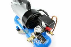 PUMA 12 Volt DC 1.5 Gallon 3/4 HP Oil-Less Air Compressor Portable High 3.4 CFM