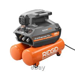 Portable Air Compressor 4.5 Gal. Automatic Start/Stop Corded Electric Oil-Free