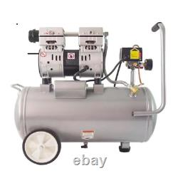 Portable Air Compressor 8-Gal. Automatic Start/Stop Oil-Free Corded Electric