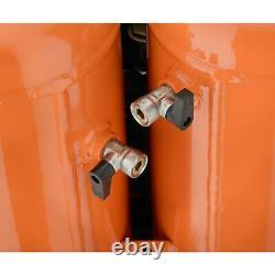 Portable Electric Air Tool Compressor Quiet Locking Regulator Framing Roofing