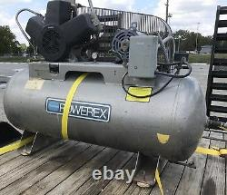 Powerex Air Compressor 80 Gallon Tank! Shop Air Compressor