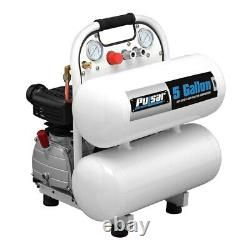 Pulsar PCE6050T 3.5 hp 1-Stage 120 V 1-Phase 5 gal Horizontal Air Compressor