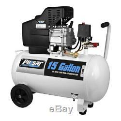 Pulsar PCE6150 3.5 HP Horizontal 15 gal. Tank Electric Air Compressor