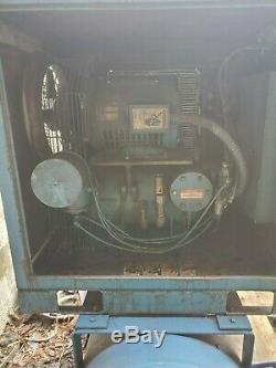 Quincy 25hsp. Air compressor with storage tank