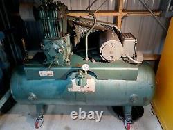 Quincy 325 Air Compressor, 80Gal, 325 ROC 14, 5HP, 240V, 1Phase (circa 1976)