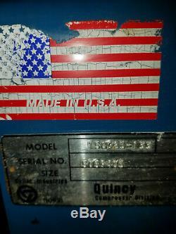 Quincy 325 Presure Lube Reciprocating Compressor-5 HP, Three PHASE Will ship