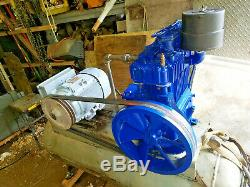 Quincy 325 Presure Lube Reciprocating Compressor-7-1/2HP, SINGLE PHASE Will ship