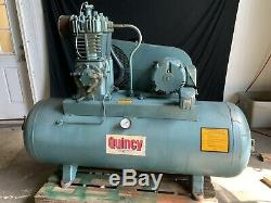 Quincy 80 Gallon 3 Phase Model 325-15 5 HP